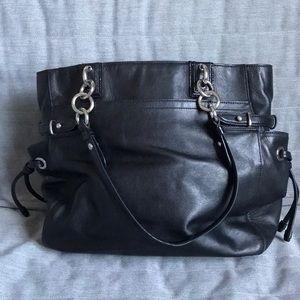629c93fc8398 Coach Bags - Black Coach Tote Bag